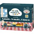Blanc-manger Coco : salade, tomate, oignon