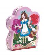 Puzzle Silhouette – Alice au Pays des Merveilles