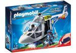 Playmobil – Hélicoptère de police avec projecteur de recherche – 6921