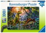 Puzzle 100 pièces – L'oasis des dinosaures