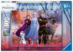Puzzle 100 pièces – Reine des neiges 2, La magie de la forêt