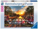 Puzzle 1000 pièces – Vélos à Amsterdam