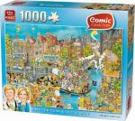 Puzzle 1000 pièces – Amsterdam King's Day