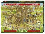 Puzzle 1000 pièces – Monkey Habitat