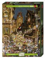 Puzzle 1000 pièces – By Night Habitat