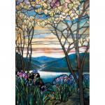 Puzzle 1000 pièces – Magnolias et iris