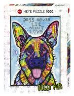 Puzzle 1000 pièces – Dogs Never Lie