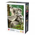 Puzzle 1000 pièces – Koalas