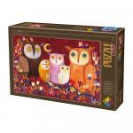 Puzzle 1000 pièces – Owl Tales