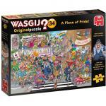 Puzzle 1000 pièces – Wasgij, La parade de la fierté !