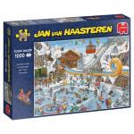 Puzzle 1000 pièces – Jeux d'hiver