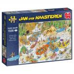 Puzzle 1500 pièces – Rafting extrême