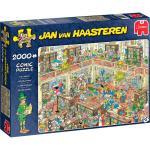 Puzzle 2000 pièces – La bibliothèque