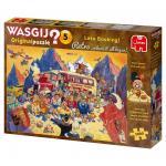 Puzzle 1000 pièces – Wasgij, Réservation de dernière minute !