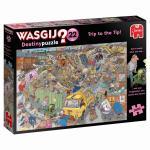 Puzzle 1000 pièces – Wasgij, Bon débarras ?