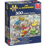 Puzzle 500 pièces – L'atelier de peinture