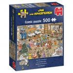 Puzzle 500 pièces – Réveillon du nouvel an