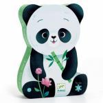 Puzzle Silhouette – Léo le panda