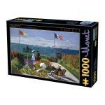 Puzzle 1000 pièces – Monet, Garden at Sainte-Adresse