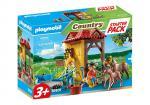 Playmobil Country – Starter Pack Box et poneys – 70501