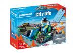 Playmobil City Life – Set cadeau, Pilote de kart – 70292