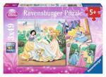 Puzzle 3×49 pièces – Rêves de princesses