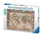 Puzzle 2000 pièces – Planisphère de 1650
